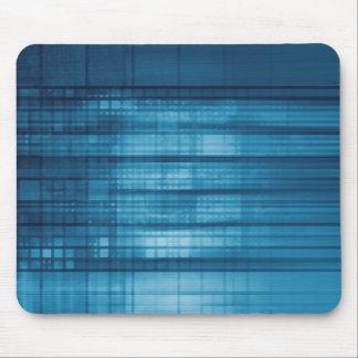 Mousepad Fundo do mosaico da tecnologia como uma arte do