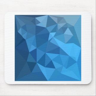 Mousepad Fundo do polígono do abstrato do azul do
