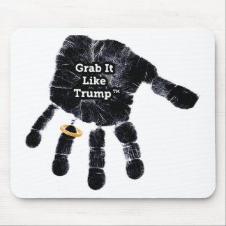 Mousepad Garra gosta do trunfo Handprint com anel