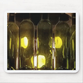 Mousepad Garrafa de vinho Funky artística de Masculinev