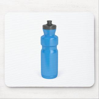 Mousepad Garrafa plástica azul