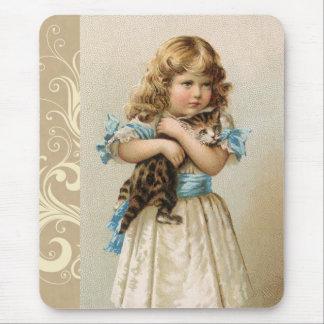 Mousepad Gatinho do vintage