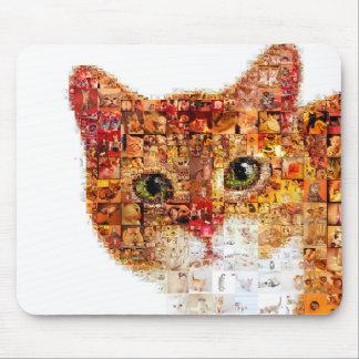 Mousepad Gato - colagem do gato
