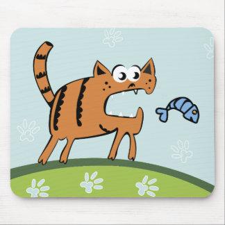 Mousepad Gato do ataque