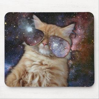 Mousepad Gato do espaço