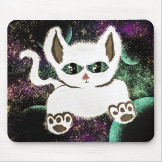 Mousepad Gato do espaço do vôo