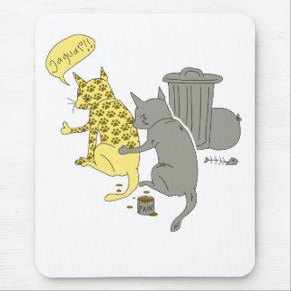 Mousepad gato do jaguar