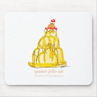Mousepad gato do jello do marmelo dos fernandes tony
