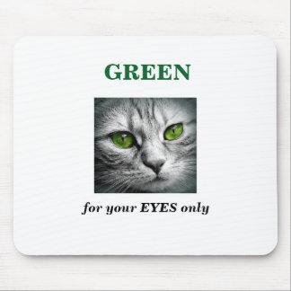 Mousepad gato eyed verde