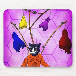 Mousepad Gato mestre do fantoche