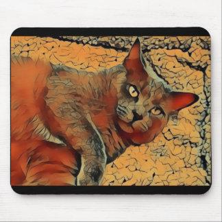 Mousepad Gato misterioso