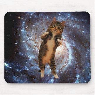 Mousepad Gato no espaço