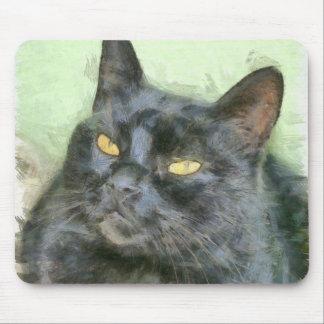 Mousepad Gato preto