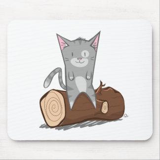 Mousepad Gato um registro - esteira do rato