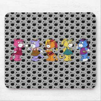 Mousepad Gatos de Boomi
