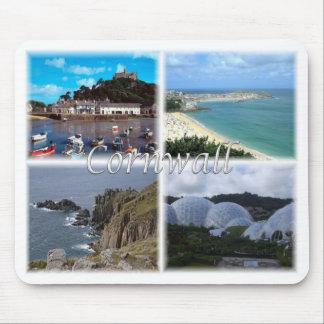 Mousepad GB Reino Unido - Inglaterra - Cornualha -