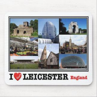 Mousepad GB Reino Unido - Inglaterra - Leicester - mosaico