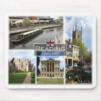 Mousepad GB Reino Unido - Inglaterra - leitura