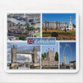 Mousepad GB Reino Unido - Inglaterra - Londres em o dia -