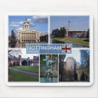 Mousepad GB Reino Unido - Inglaterra - Nottingham -