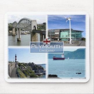 Mousepad GB Reino Unido - Inglaterra - Plymouth Devon -