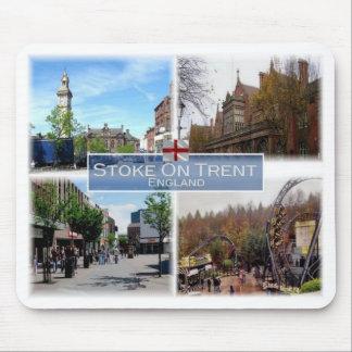 Mousepad GB Reino Unido - Inglaterra - Stoke-Em-Trent -