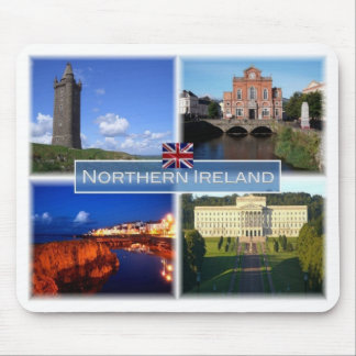 Mousepad GB Reino Unido - Irlanda do Norte -