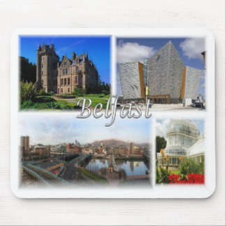 Mousepad GB Reino Unido - Irlanda do Norte - Belfast -