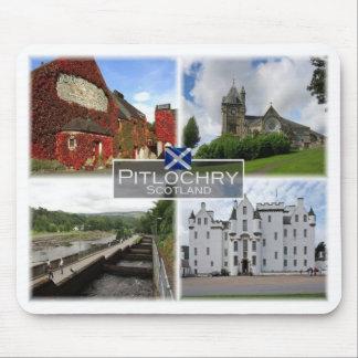 Mousepad GB Reino Unido - Scotland - Pitlochry -