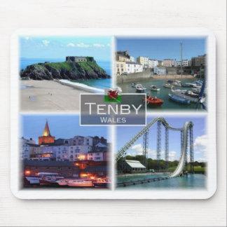 Mousepad GB Reino Unido - Wales - Tenby -