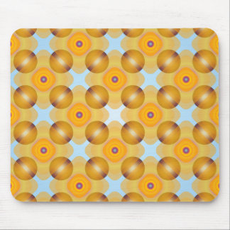 Mousepad Geométrico amarelo incomum