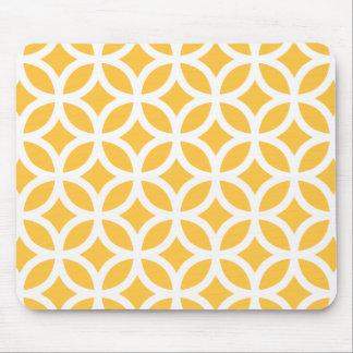 Mousepad Geométrico amarelo solar