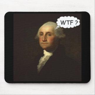 Mousepad George Washington que gira em sua sepultura