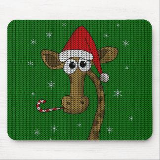 Mousepad Girafa do Natal