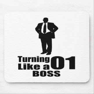 Mousepad Girando 01 como um chefe