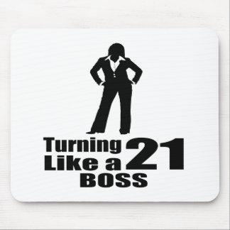 Mousepad Girando 21 como um chefe