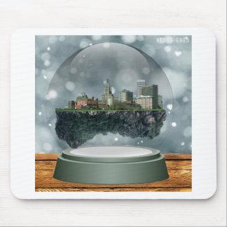Mousepad Globo da neve da ilha do providência