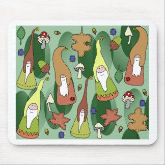 Mousepad Gnomos da floresta