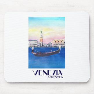 Mousepad Gôndola de Veneza Italia no canal grande com San