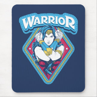 Mousepad Gráfico do guerreiro da mulher maravilha