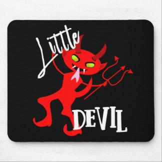 Mousepad Gráfico engraçado pequeno bonito do diabo vermelho