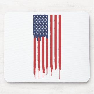Mousepad Grafites EUA da bandeira americana unidos