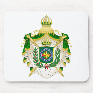 Mousepad Grandes Armas do Império do Brasil.