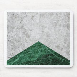 Mousepad Granito concreto #412 do verde da seta
