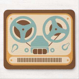 Mousepad Gravador análogo bobina a bobina