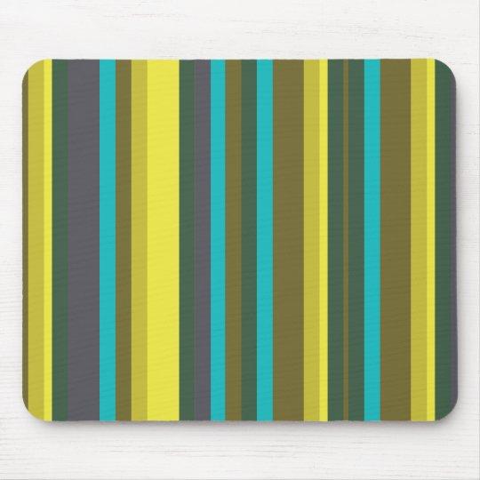 Mousepad Green_stripes
