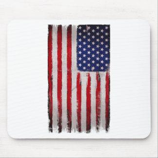 Mousepad Grunge da bandeira dos EUA