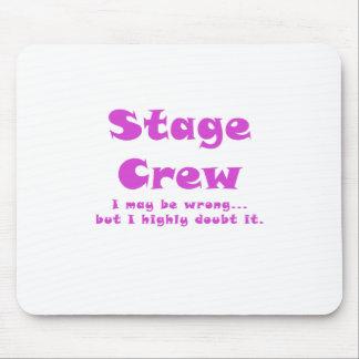 Mousepad Grupo de palco eu posso ser errado mas eu duvido-o