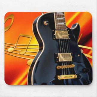 Mousepad Guitarra e notas