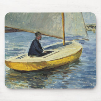 Mousepad Gustave Caillebotte - o barco amarelo